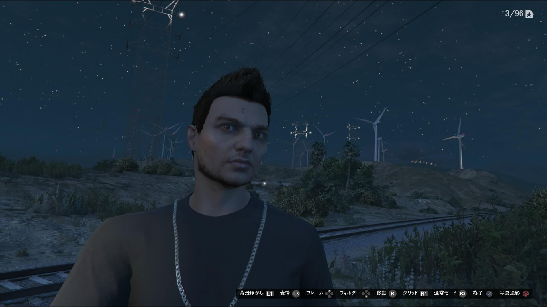 PS4版GTA5のスマホで自撮りをする方法