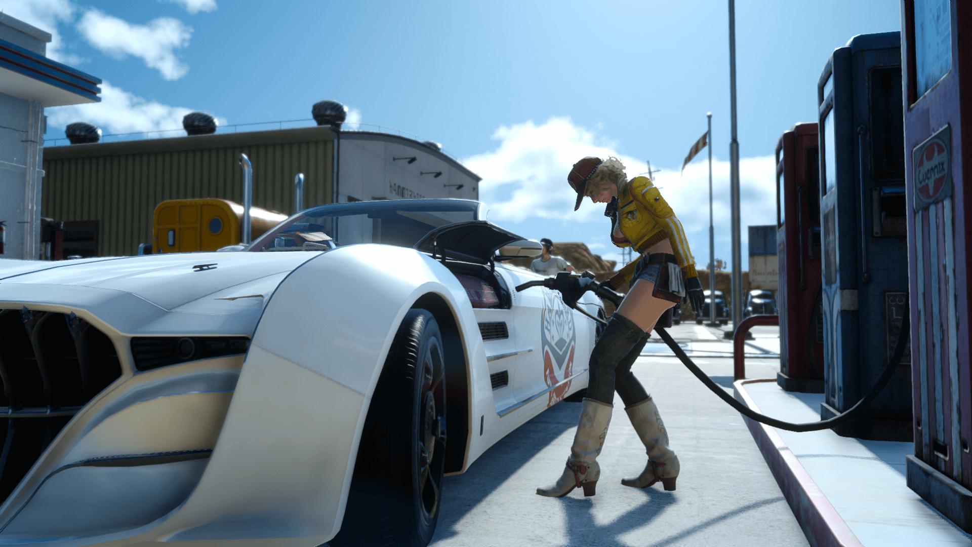 【FF15】ガス欠注意!車にガソリンを入れる方法