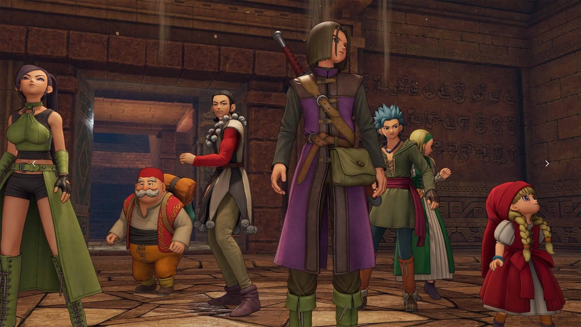 02 Dragon Quest Xi Guide Costumes