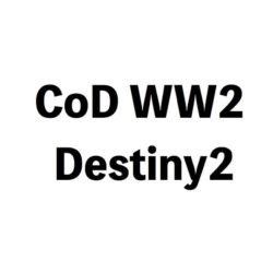 CoDWW2 Destiny2