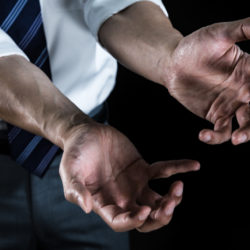 ゲーム中の手汗
