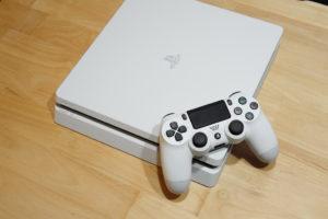 白いPS4
