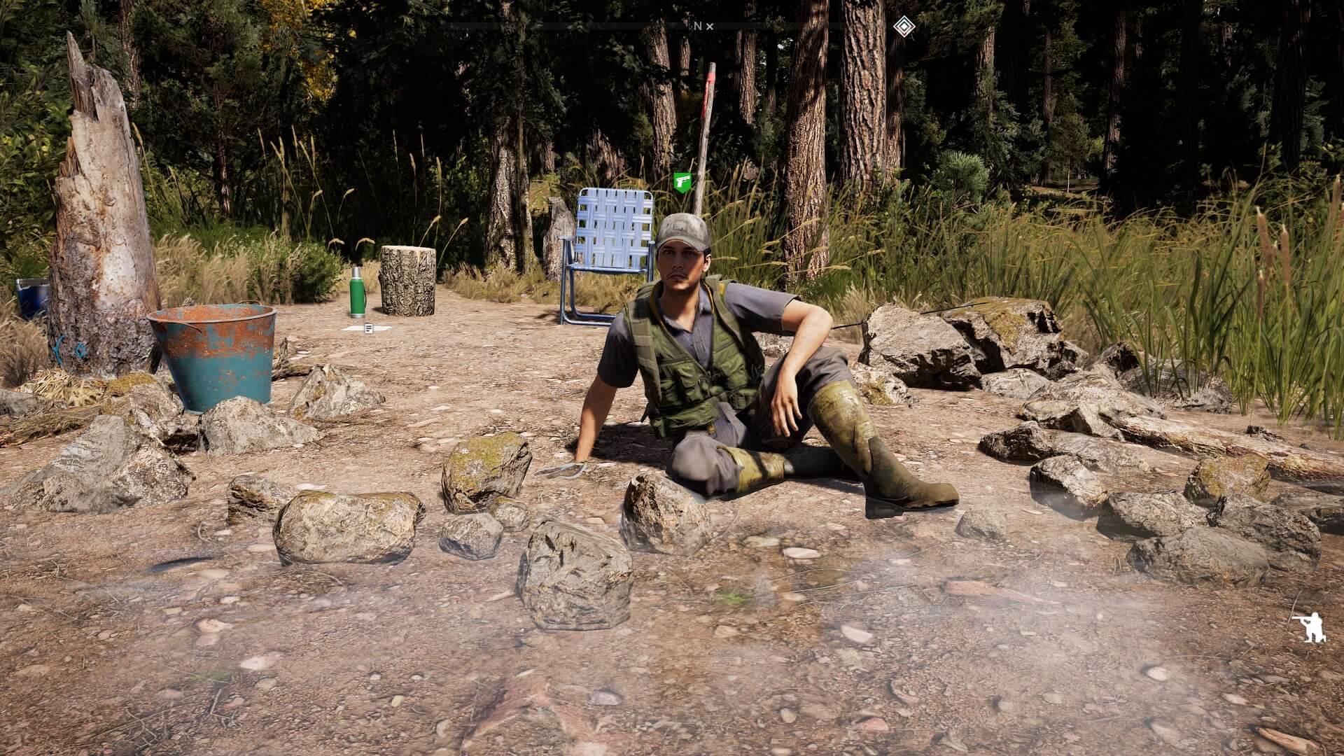 FarCry5の釣り人