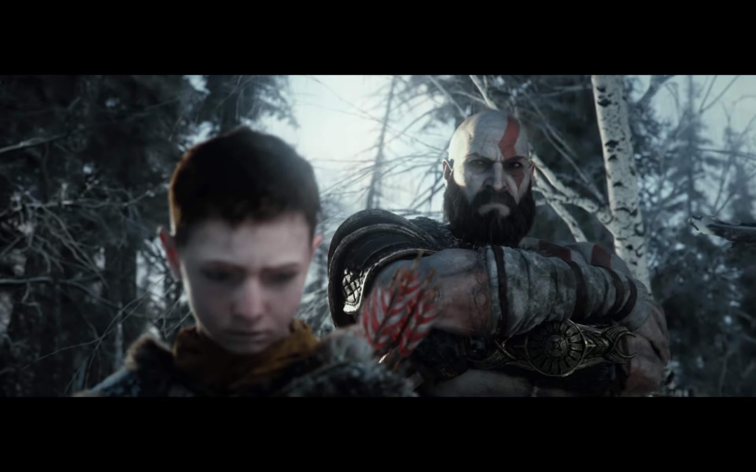 ゴッドオブウォー最新トレーラー映像「戦いの旅路」が公開。クレイトスが親父っぽいことしてる!