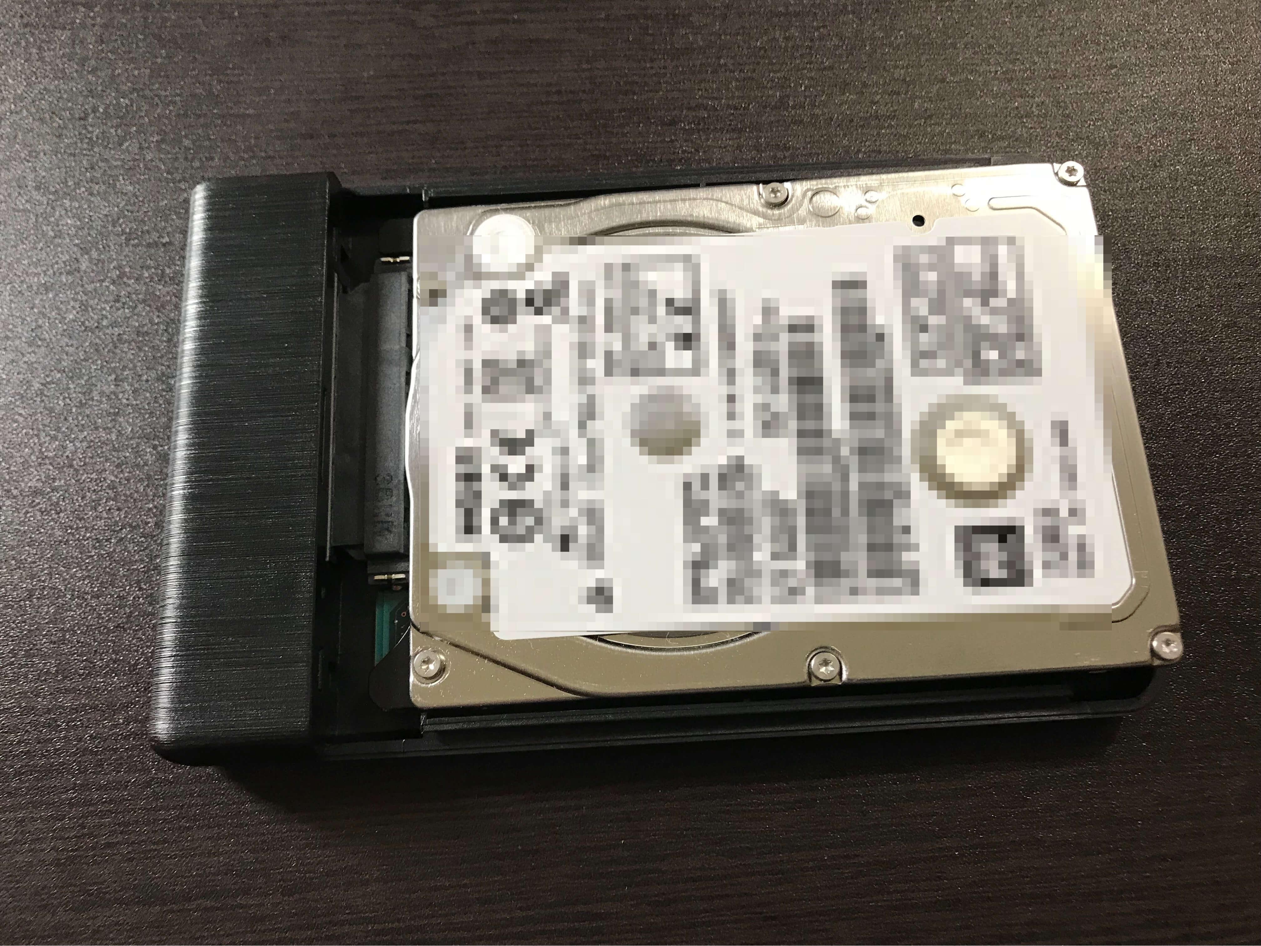 ORICOのHDDケースとHDD