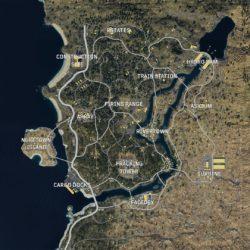 BLACKOUTのマップ