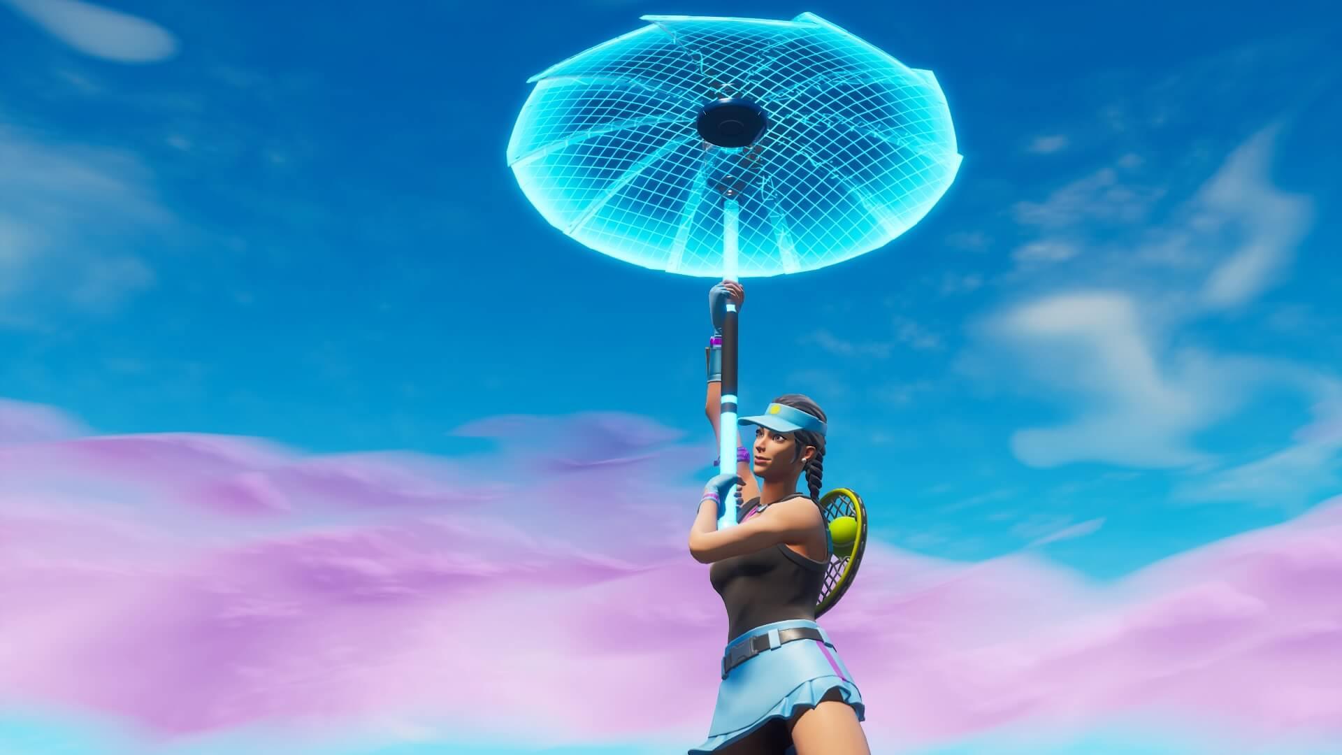 フォートナイト:チームランブルでも傘が貰えたほうがいいと思う?