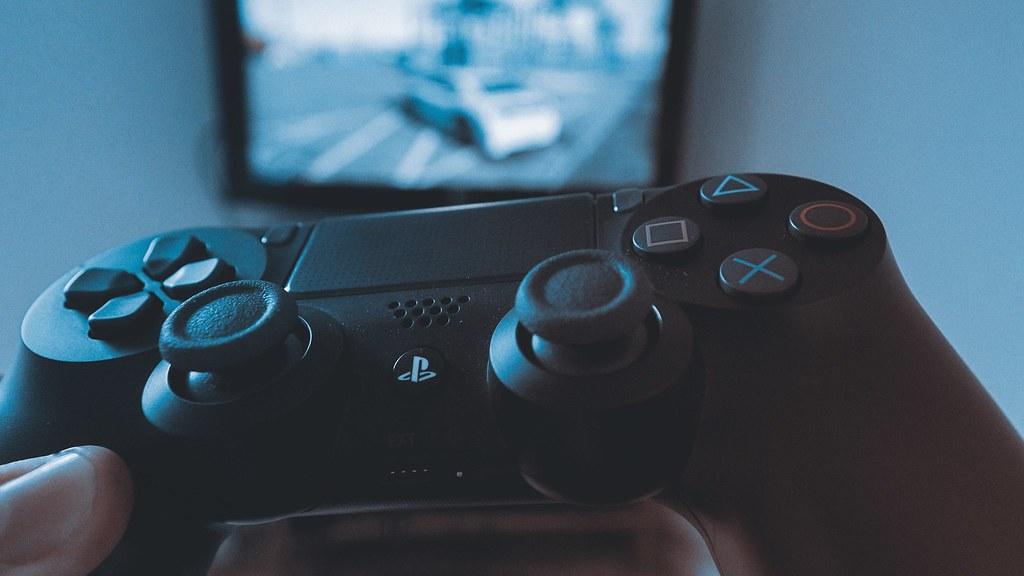 PS4のコントローラー