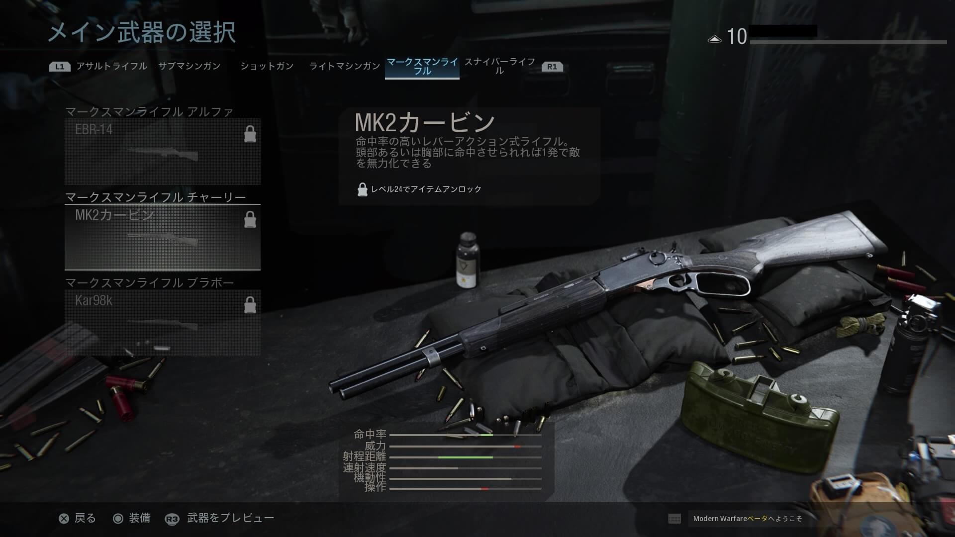 MK2カービン