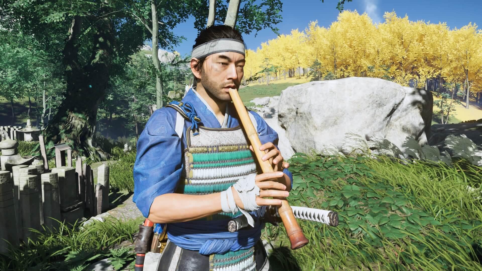ゴーストオブツシマ:笛を吹く意味とは?