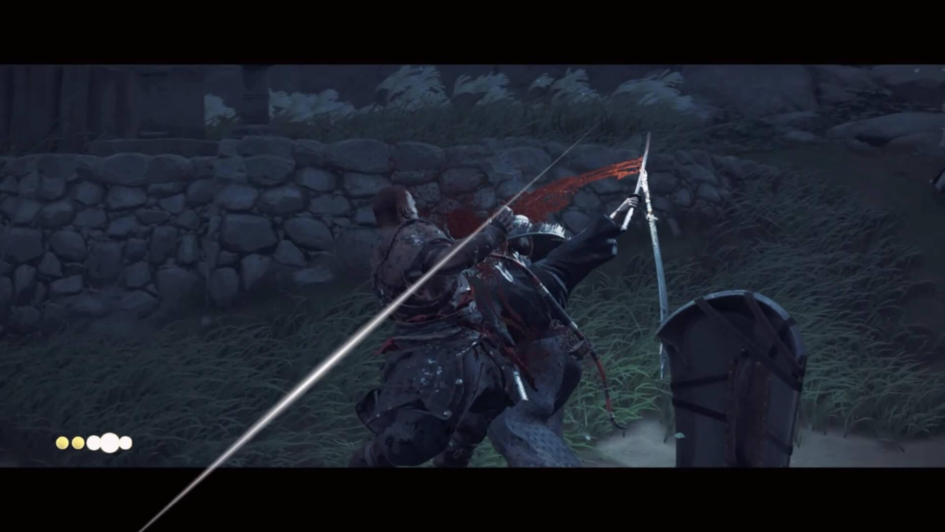 ゴーストオブツシマ:一騎討ちで2人以上の敵を倒す方法