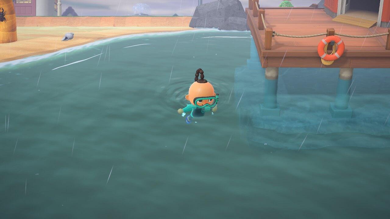 の 森 泳ぎ方 どうぶつ